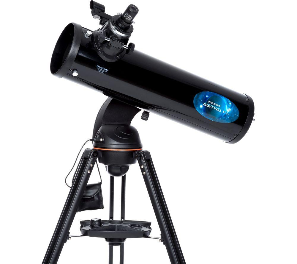 CELESTRON AstroFi 130mm Reflector Telescope - Black
