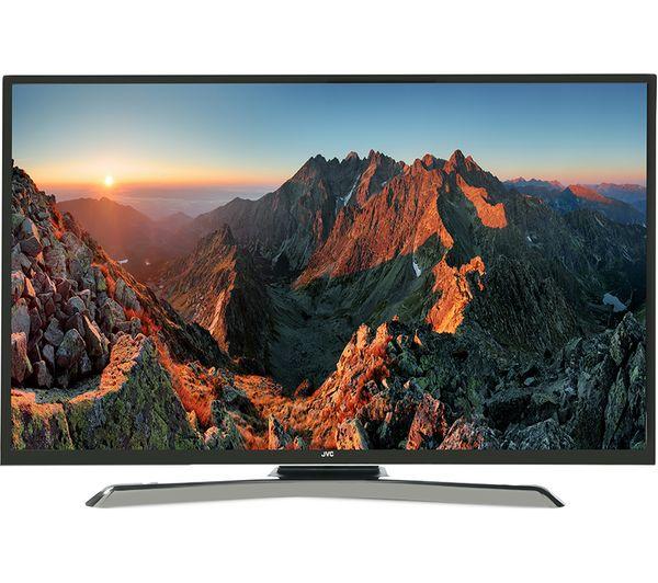 """JVC LT-40C880 40"""" Smart 4K Ultra HD HDR LED TV Fast"""