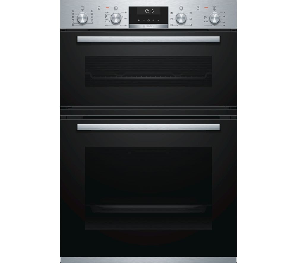 BOSCH Serie 6 MBA5575S0B Electric Double Oven - Stainless Steel