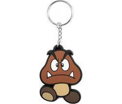 NINTENDO Goomba Rubber Keychain - Brown