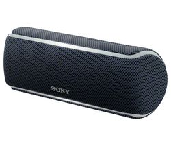 SONY SRS-XB21 Portable Bluetooth Wireless Speaker - Black