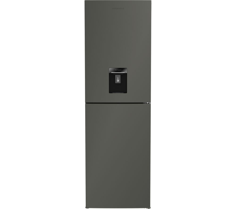 GRUNDIG GKNG1691DG 50/50 Fridge Freezer - Graphite, Graphite