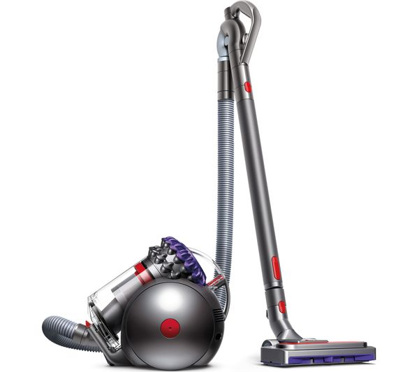 Image of DYSON Big Ball Animal 2 Cylinder Bagless Vacuum Cleaner - Iron & Purple
