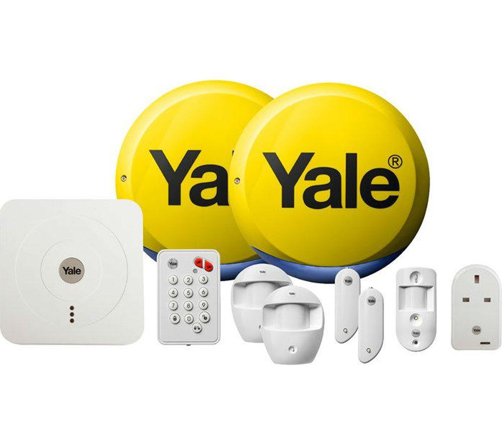 YALE SR-340 Smart Home Alarm, View & Control Kit