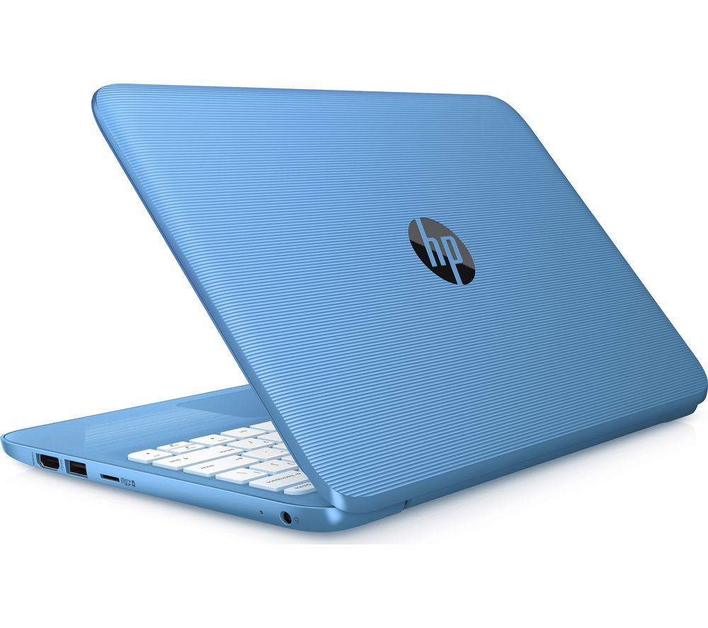 "Image of HP Stream 11-y055sa 11.6"" Intel® Celeron Laptop - 32 GB eMMC, Blue, Blue"