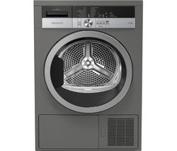 GRUNDIG GTN38250MGCG 8 kg Heat Pump Tumble Dryer - Graphite