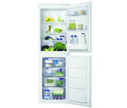 ZANUSSI ZBB27640SV Integrated 50/50 Fridge Freezer