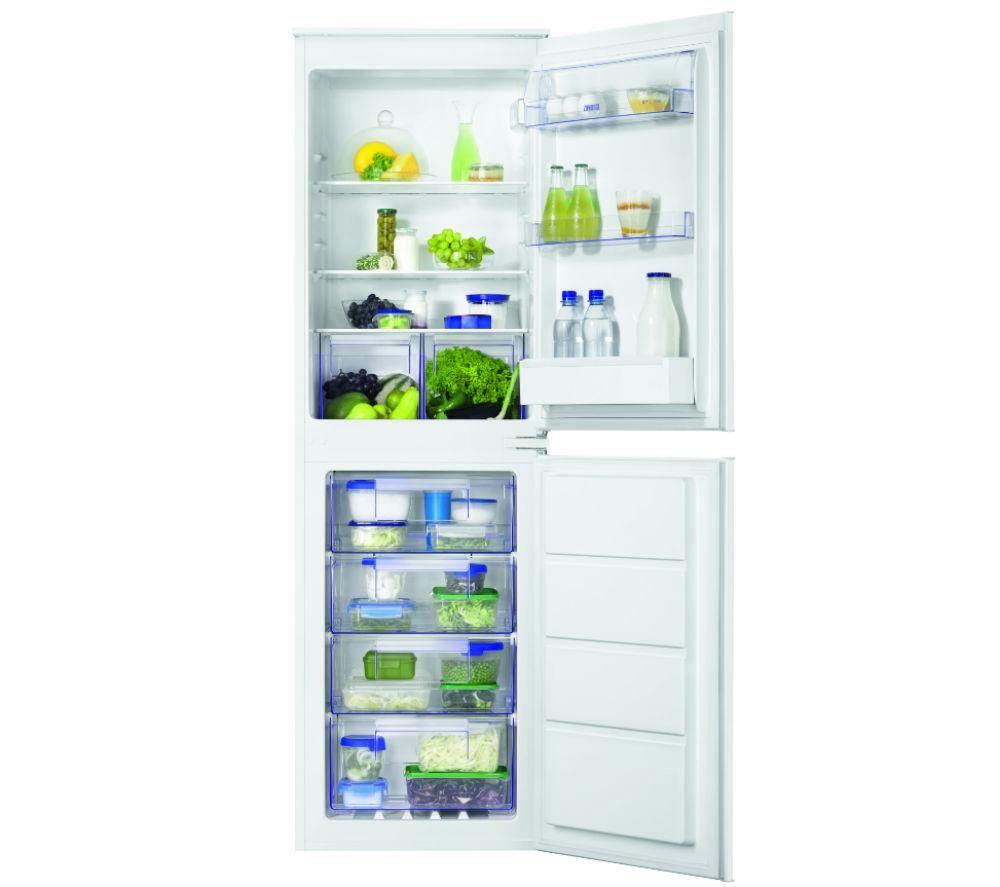 Image of ZANUSSI ZBB27640SV Integrated 50/50 Fridge Freezer