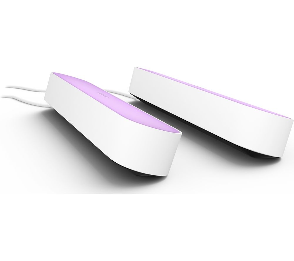 PHILIPS HUE Hue Play Light Bar - White, Twin Pack