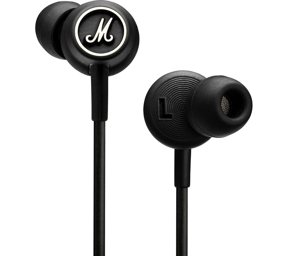 Marshall Mode Headphones - Black, Black
