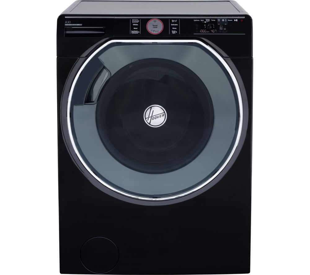 HOOVER AXI AWMPD610LH08B Smart 10 kg 1600 Spin Washing Machine - Black, Black
