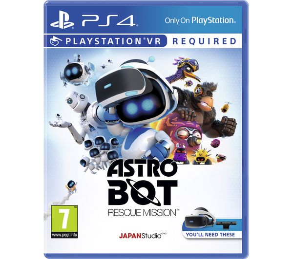 SONY PlayStation VR Starter Pack & Astro Bot Rescue Mission Bundle