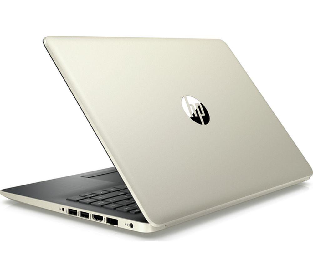 "HP 14-ck0597sa 14"" Intel® Core™ i5 Laptop - 128 GB SSD, Gold"