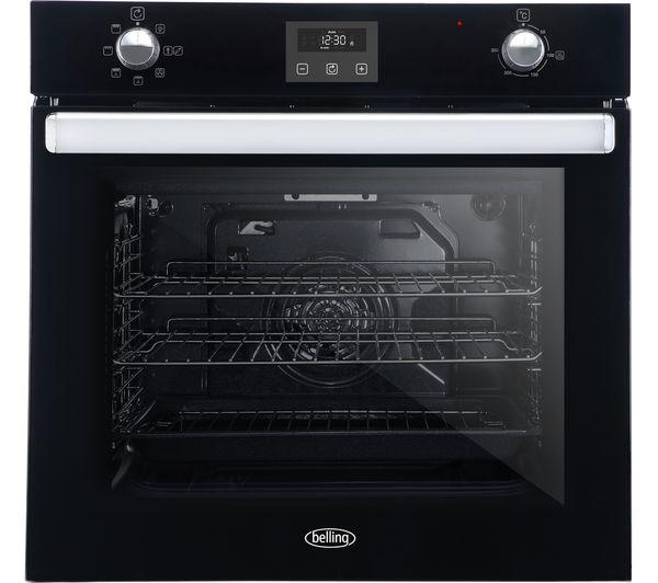 Image of BELLING BI602FP Electric Oven - Black