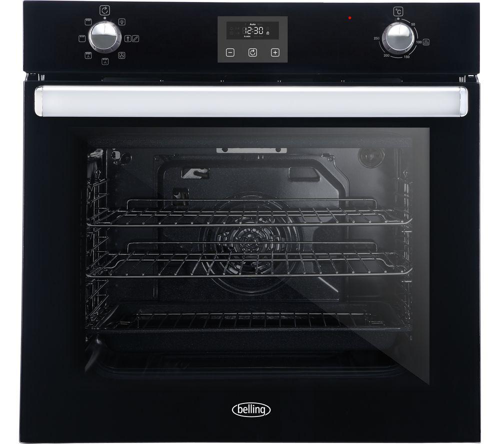 Image of BELLING BI602FP Electric Oven - Black, Black