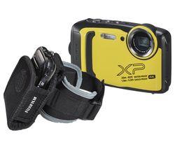 FinePix XP140 Tough Compact Camera Kit - Yellow
