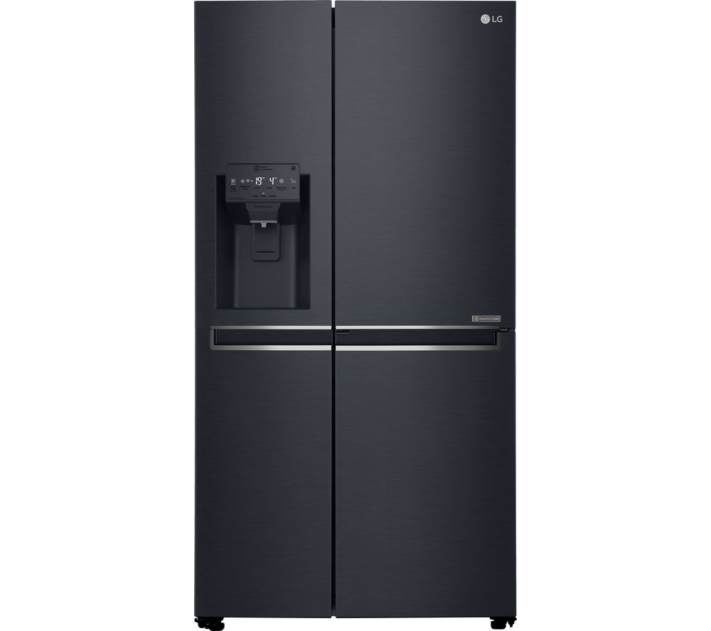 LG GSL761MCXV American-Style Smart Fridge Freezer - Black