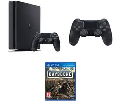 SONY PlayStation 4, Days Gone & DualShock 4 V2 Wireless Controller Bundle - 500 GB