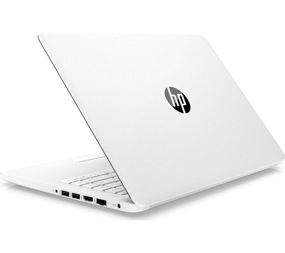"HP Stream 14-cm0507sa 14"" AMD A4 Laptop - 64 GB eMMC, White"
