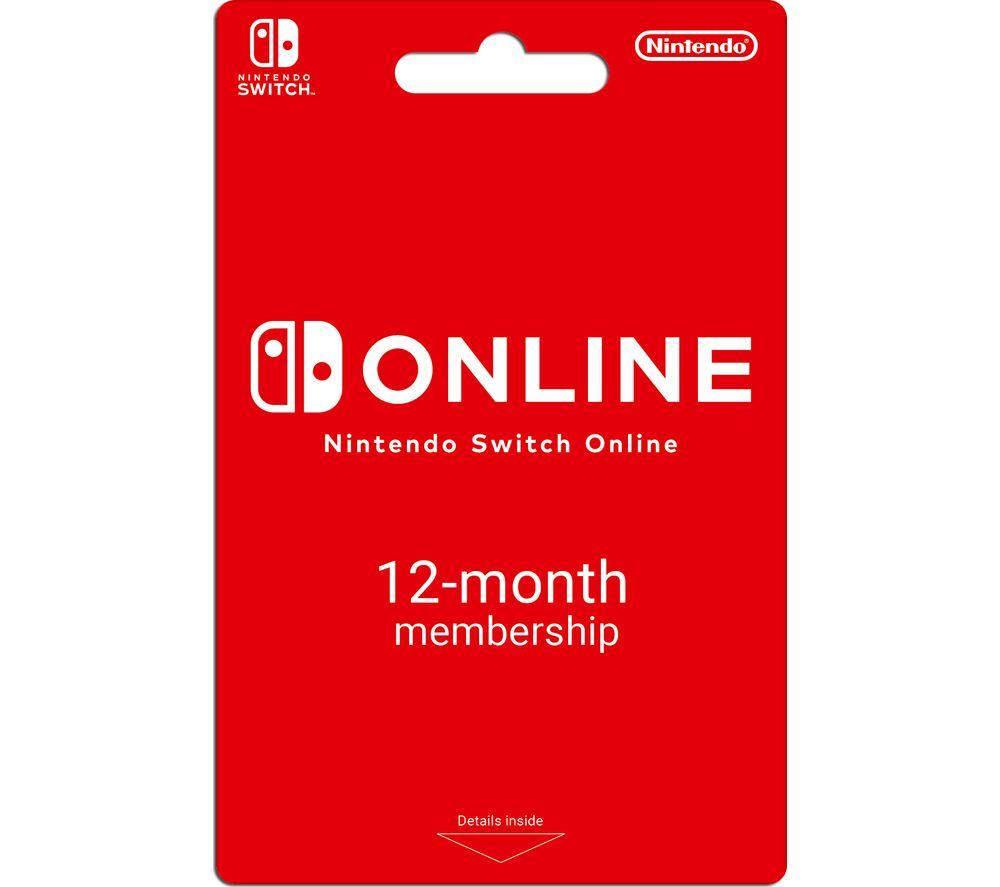NINTENDO Switch Online 12 Month Membership