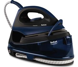 TEFAL Fasteo SV6050 Steam Generator Iron – Black & Blue