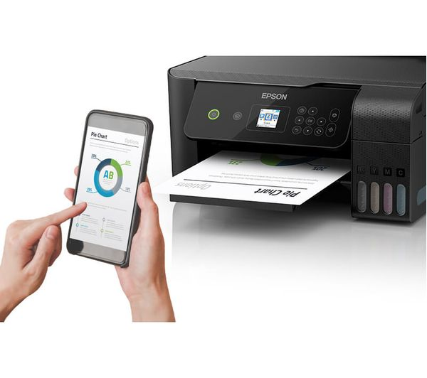 Buy Epson Ecotank Et 2720 All In One Wireless Inkjet Printer Free Delivery Currys