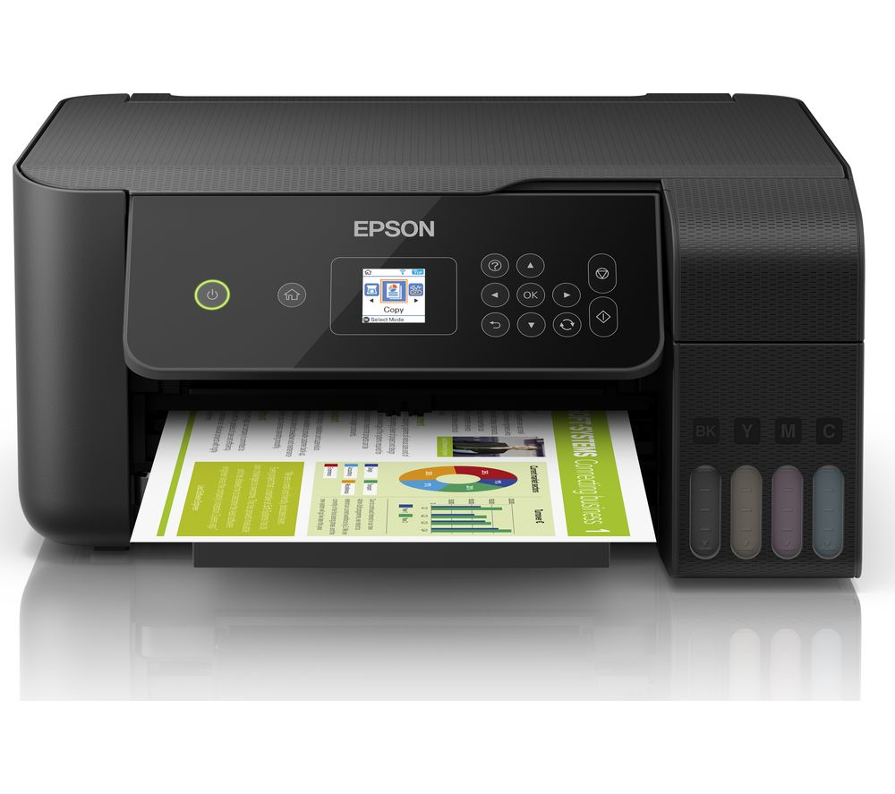 Image of EcoTank ET-2720 All-in-One Wireless Inkjet Printer