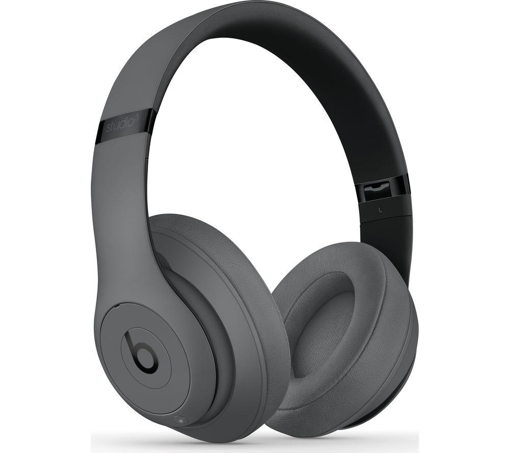 BEATS Studio 3 Wireless Bluetooth Noise-Cancelling Headphones - Grey