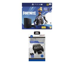 SONY PlayStation 4 Pro with Fortnite Neo Versa & Twin Docking Station - 1 TB