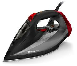 PHILIPS Azur GC4567/86 Steam Iron - Black & Red Best Price, Cheapest Prices