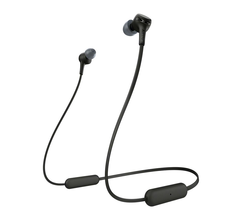 SONY Extra Bass WI-XB400 Wireless Bluetooth Earphones - Black