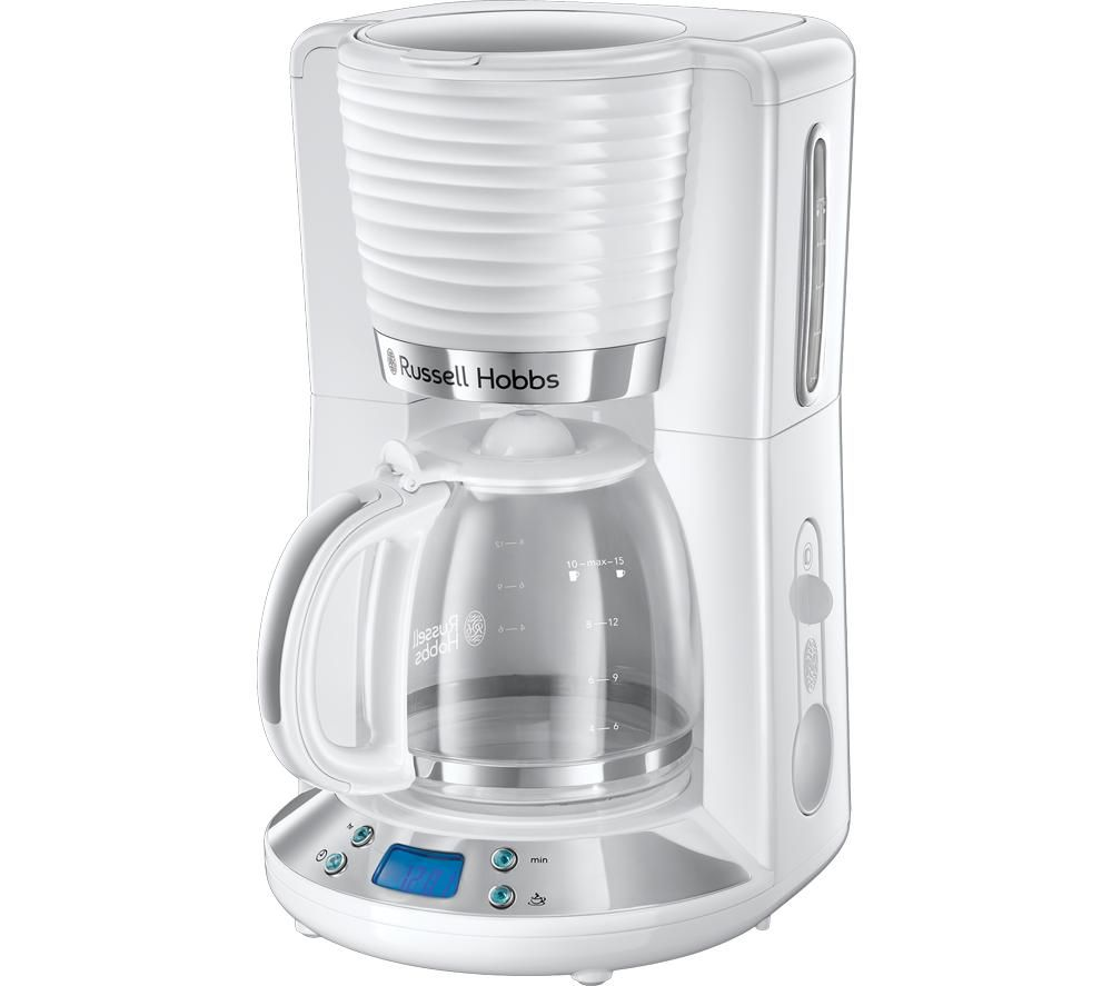 RUSSELL HOBBS Inspire 24390 Filter Coffee Maker - White, White
