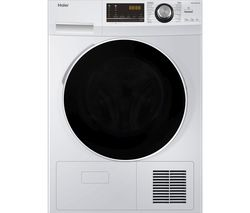 HAIER HD80-A636 8 kg Heat Pump Tumble Dryer – White