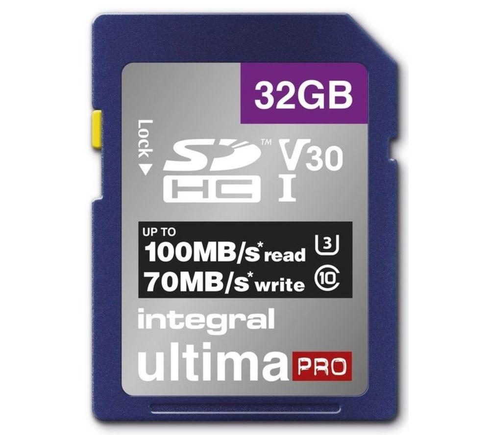 INTEGRAL V30 Class 10 SD Memory Card - 32 GB