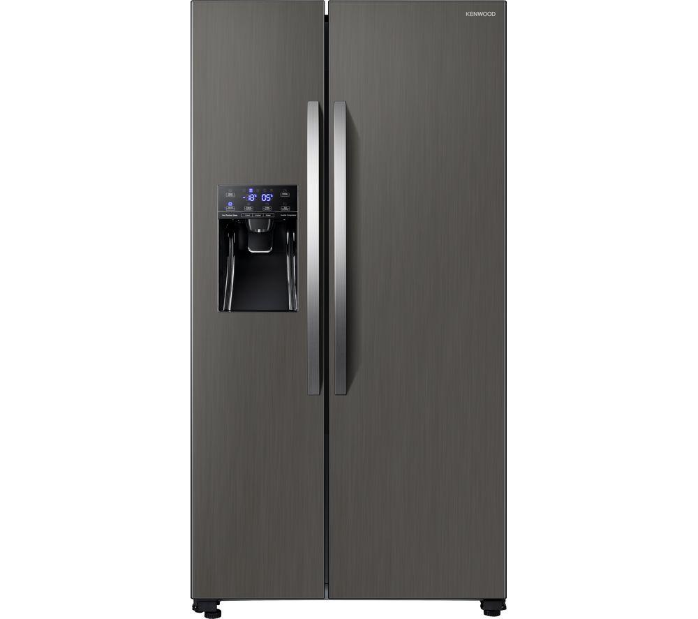 KENWOOD KSBNDIX20 American-Style Fridge Freezer - Inox