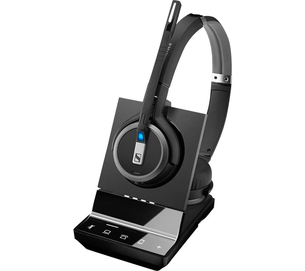 Image of SENNHEISER Impact SDW 5065 UK Wireless Headset - Black, Black