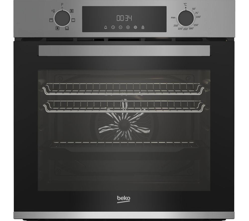 Image of BEKO BBXIE22300S Electric Oven - Silver, Silver