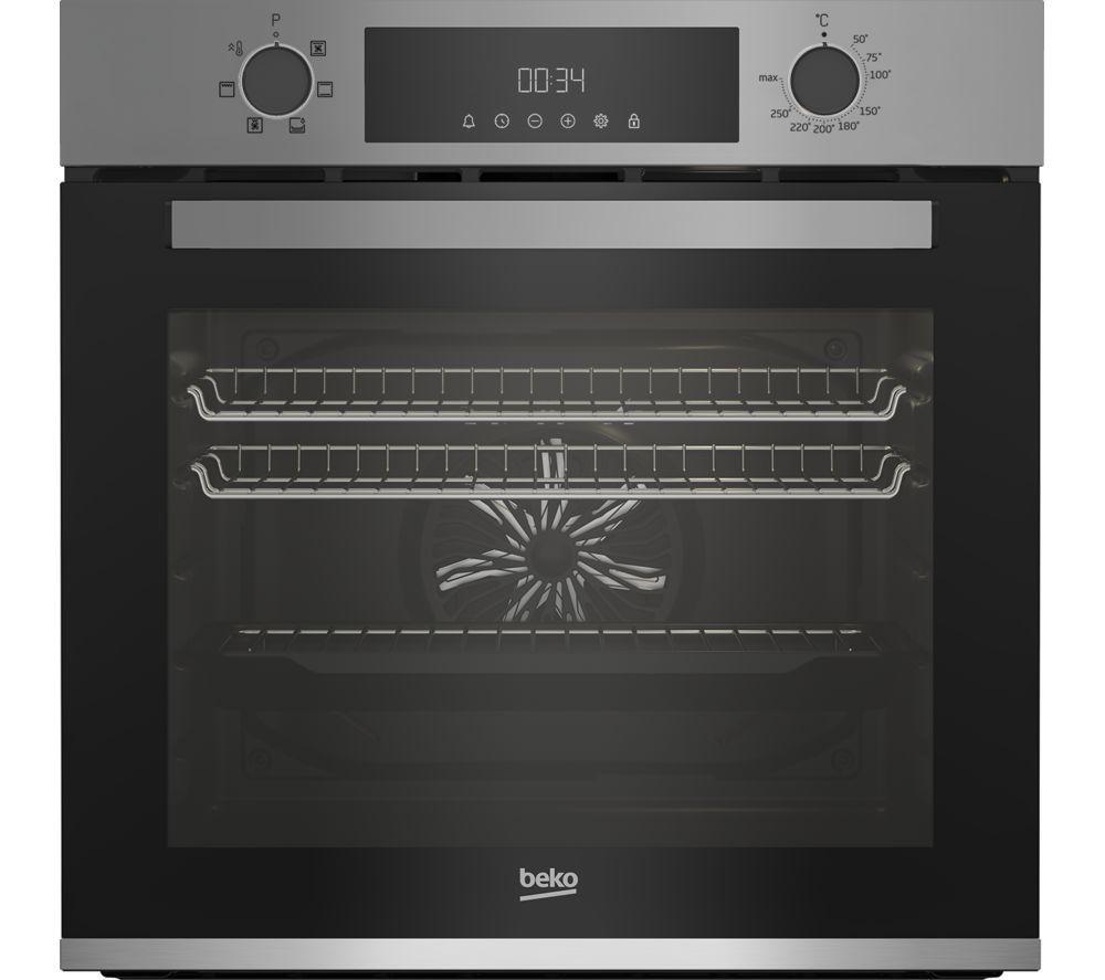 BEKO AeroPerfect BBXIE22300S Electric Oven - Silver, Silver