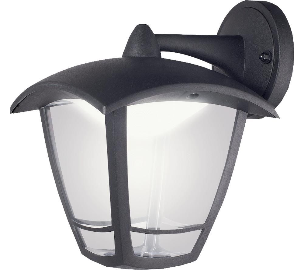 LUCECO Decorative Outdoor LED Wall Lamp - Black
