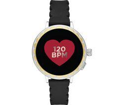Scallop 2 KST2008 Smartwatch - Black, Silver & Gold, Silicone Strap, 42 mm