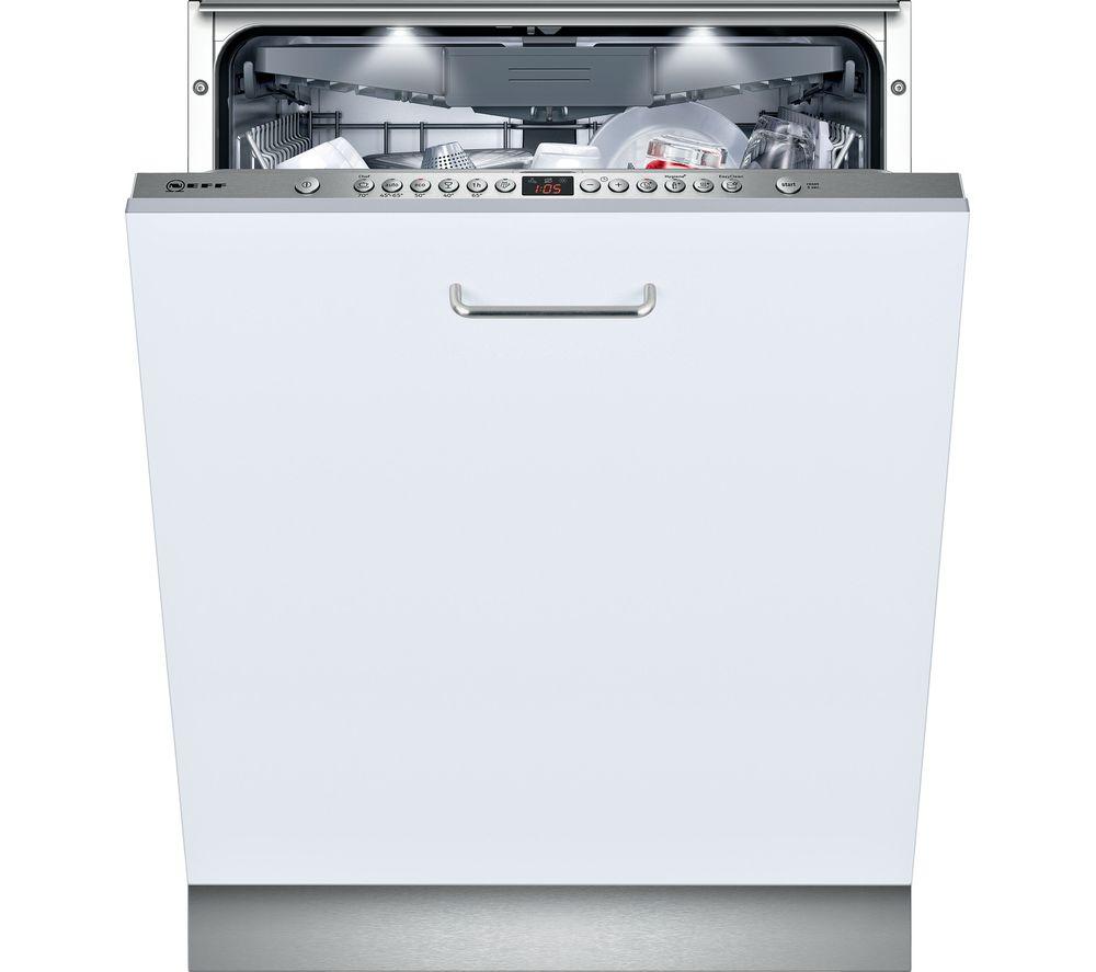 NEFF N50 S513N60X1G Full-size Fully Integrated Dishwasher