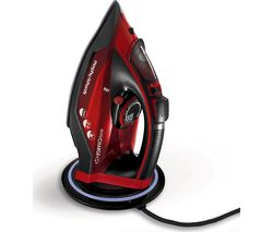 Easycharge 303250 Cordless Steam Iron - Red & Black