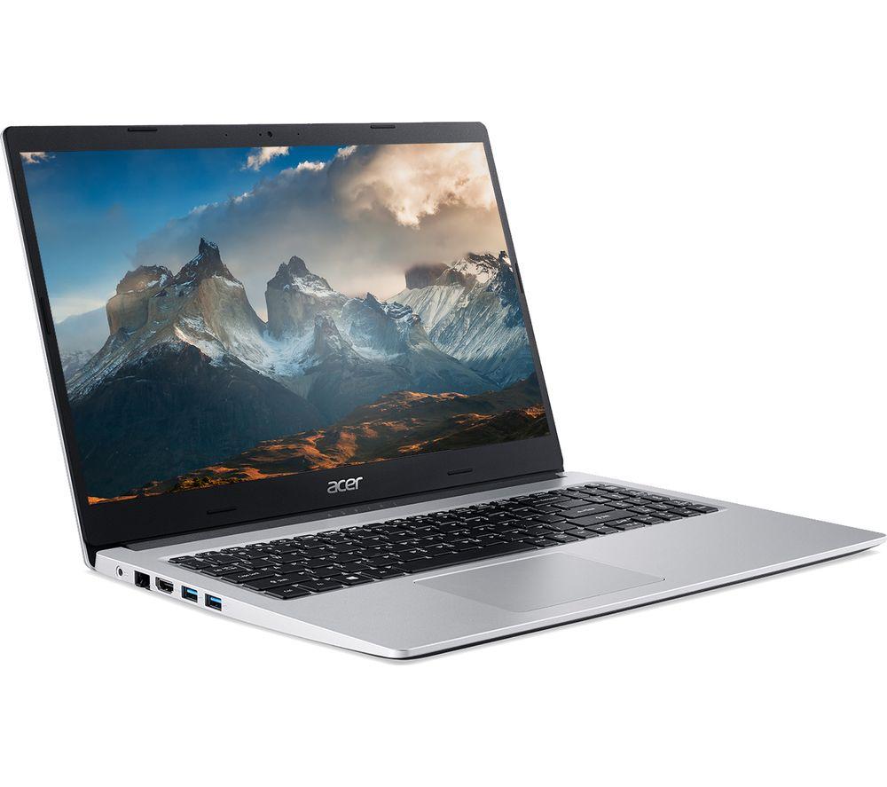 ACER Aspire 3 A315-23 15.6 inch Laptop - AMD Ryzen 5, 512 GB SSD, Silver