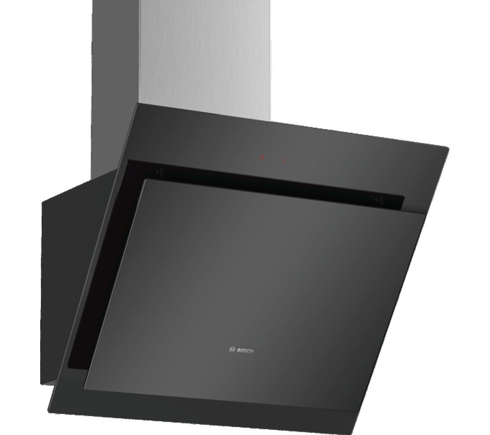 BOSCH Serie 4 DWK67CM60B Chimney Cooker Hood - Black