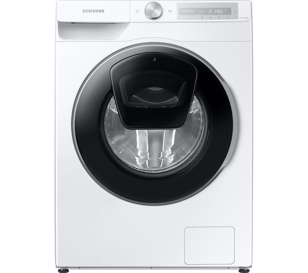 SAMSUNG Series 6 AddWash + Auto Dose WW80T684DLH/S1 WiFi-enabled 8 kg 1400 Spin Washing Machine - White