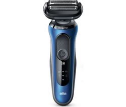 Series 6 60-B7200cc Wet & Dry Foil Shaver - Blue & Black