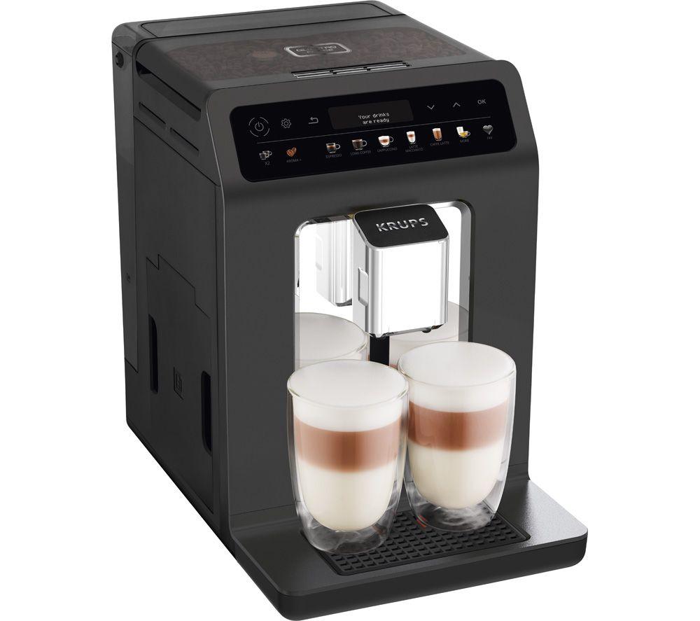 KRUPS Evidence One EA895N40 Bean to Cup Coffee Machine – Meteor Grey