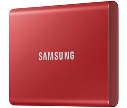 T7 Portable External SSD - 2 TB, Red
