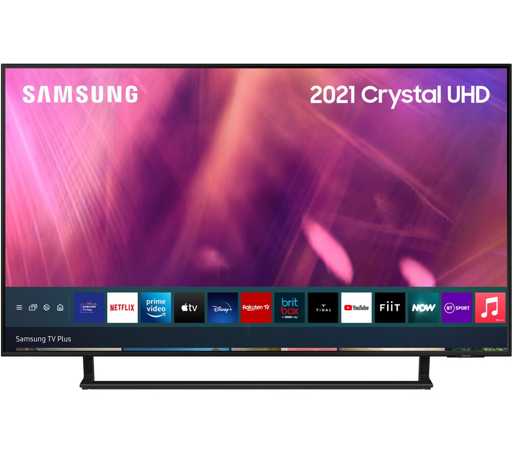 "SAMSUNG UE43AU9007KXXU 43"" Smart 4K Ultra HD HDR LED TV with Bixby, Alexa & Google Assistant"