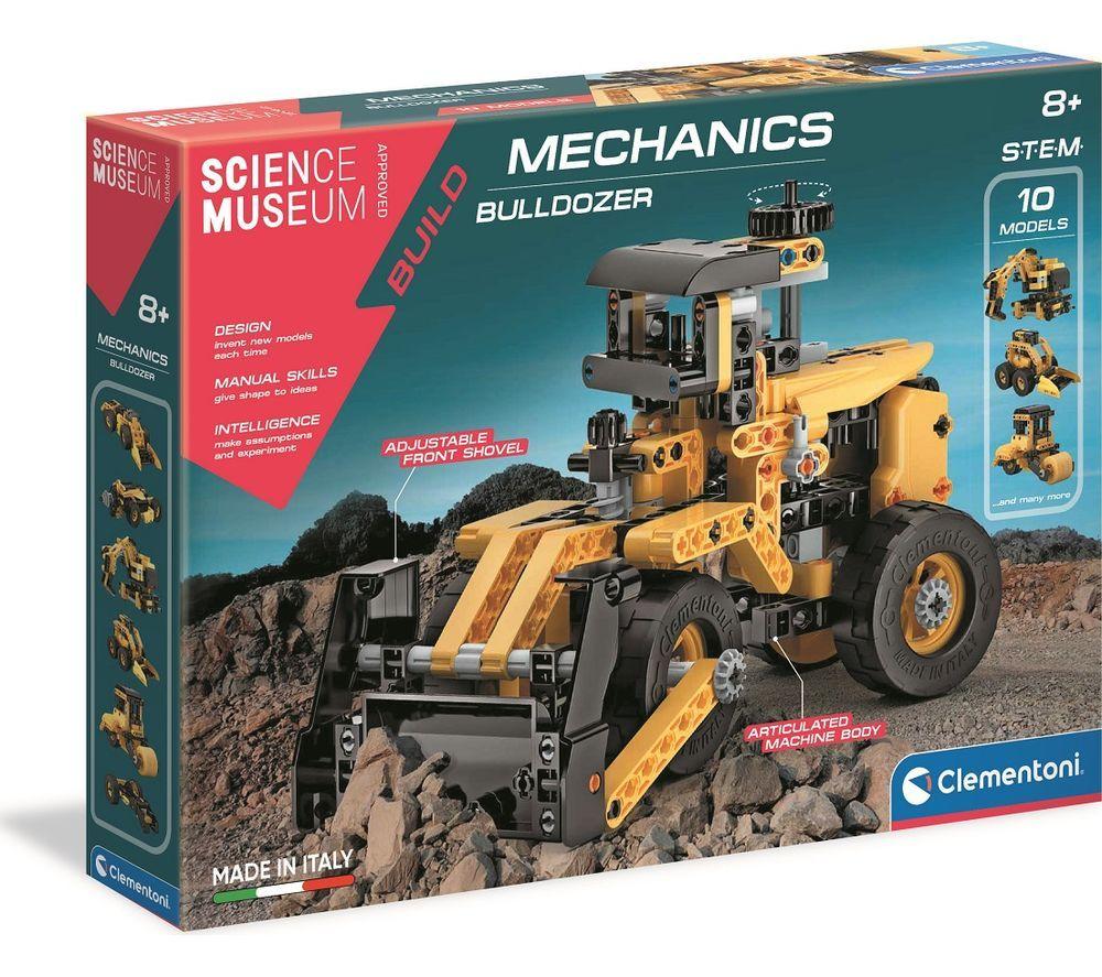 SCIENCE MUSEUM Mechanics 61718 Bulldozer Kit
